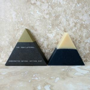Black-Gold-Equilateral-handmade-soap-barsoapbrooklynllc